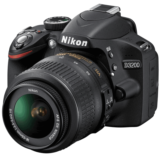 Nikon D3200 With 18-55mm